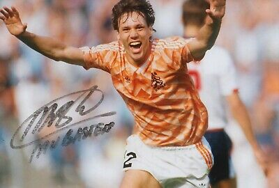 Marco van Basten Hand Signed 12x8 Photo - Holland - Football Autograph 2.