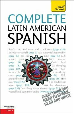 COMPLETE LATIN AMERICAN SPANISH: A TEACH YOURSELF GUIDE By Juan Mint