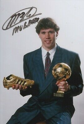 Marco van Basten Hand Signed 12x8 Photo - Holland - Football Autograph 3.