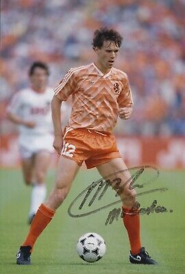 Marco van Basten Hand Signed 12x8 Photo - Holland - Football Autograph 5.