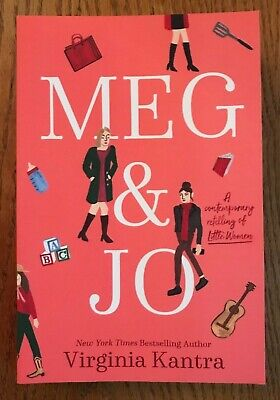 Meg & Jo by Virginia Kantra paperback book contemporary retelling Little Women