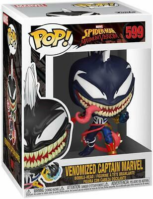 Funko Pop! Marvel: Marvel Venom - Captain Marvel 599 46456 In stock