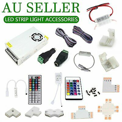 LED Strip Light Connector LIGHT CONTROLLER Power Supply SMD 3528 5050 Accessorie