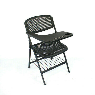 Folding Chair with Table Top for Classroom Lecture Training Conference