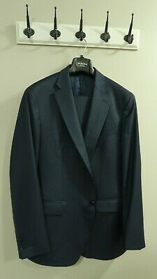 Ermenegildo Zegna suit, 44R, Two-Piece Suit,Blue,Made in Italy, Modern Fit