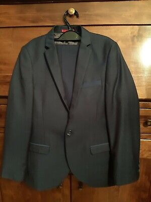 Boys Next Tailoring Blue Suit Age 8 Years - Worn Once
