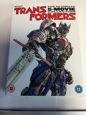 Transformers 5 Movie Collection (DVD, 2018) Brand New Sealed