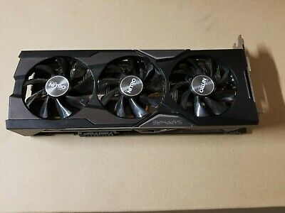 Sapphire Nitro R9 Fury Graphic Card Hbm Memory Works Great