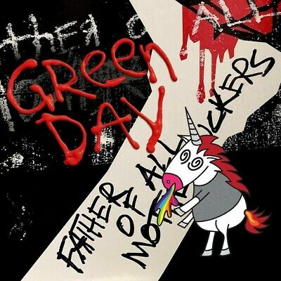 GREEN DAY FATHER OF ALL... CLOUDY RED VINYL ALBUM (Released February 7th 2020)