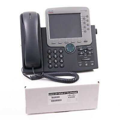 Cisco CP-7970G IP Phone SCCP Refurbished Grade A Inc Warranty and Free Delivery