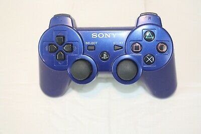 Sony Brand Playstation 3 PS3 Blue Dual Shock 3 Sixaxis Controller