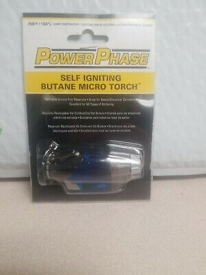 Self-igniting Propane soldering hobbyists camp fires Micro-torch cooking