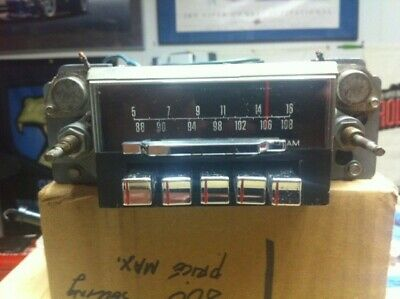1967 Mustang and Shelby AM FM Radio, Original