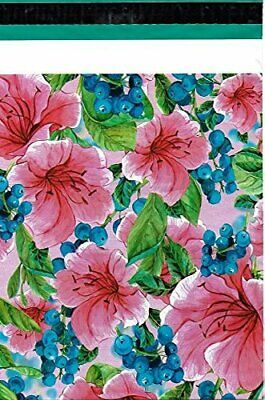 1-1000 10x13 (Pink Tropical Flower) Boutique Designer Poly Mailers Fast Shipping