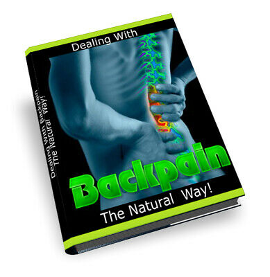 Dealing with your back pain the natural way E book PDF MRR + 10 Free Ebooks