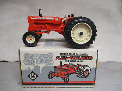 "Allis Chalmers Model D-19 Diesel Toy Tractor ""1990 MN State Fair"" 1/16 Scale NIB"