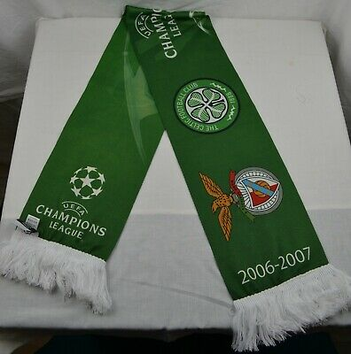 Official Champions League Football Scarf Celtic FC Manchester United 2006-2007