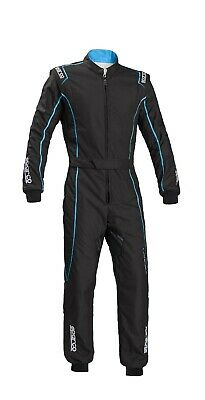 Sparco KS-3 Kart Race Suit and matching gloves