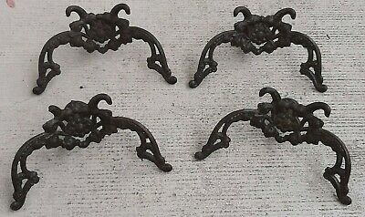 Vintage Lot of 4 desirable WALL HANGERS HOOKS - dont get hung up on the past