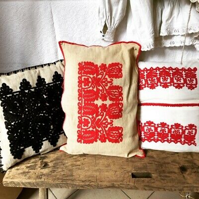 3 ps. Vintage Hungarian Cushions Cover