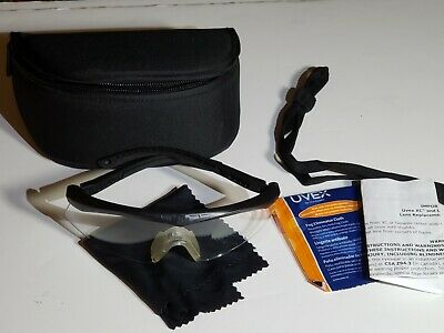 Revisio Crossbow Clear Z87 APEL Ballistic Shooting Safety Glasses With Hard Case