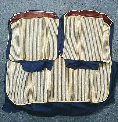 1946 1947 1948 Plymouth Seat Covers Vintage Plaid MoPar Accessory Club Coupe