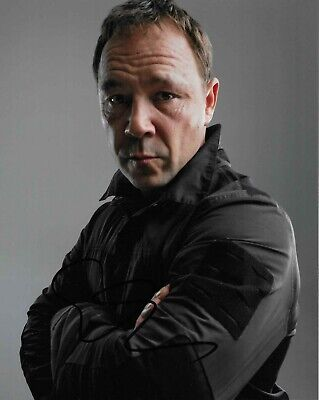Stephen Graham autograph - signed photo - This is England - Line of Duty