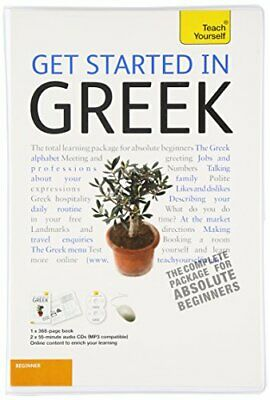 GET STARTED IN GREEK WITH TWO AUDIO CDS: A TEACH YOURSELF By Aristarhos Mint