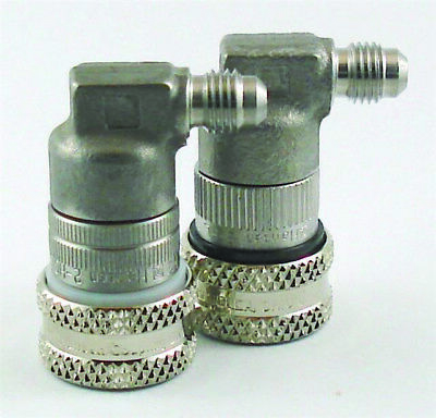 """Tuthill S/S  Ball Lock Gas Quick Disconnect Fitting - 1/4"""" Male Flare Thread"""