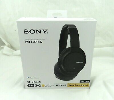 Sony WHCH700NB Noise Cancelling Headphones With Bluetooth Black