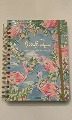 Lilly Pulitzer 17 Month Agenda Planner Floridita NEW August 2019-December 2020