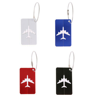 Luggage Tag Travel Suitcase Bag Name ID Tags Address Label Baggage Card Hol BEST