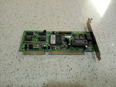 Trident TVGA9000i-1 ISA 16-bit VGA Video Graphics Card