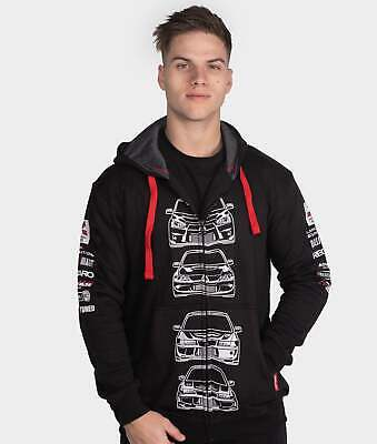 Kids Mitsubishi Evolution Children JDM Drift Race Pullover Hoodie