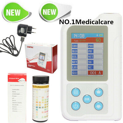 BC401 Urine Analyzer Multi-parameter LCD Test Stripes Rechargeable