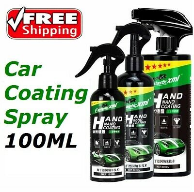 100ML Waterproof Stain-proof Car Coating Spray Hand Nano Coating Technology
