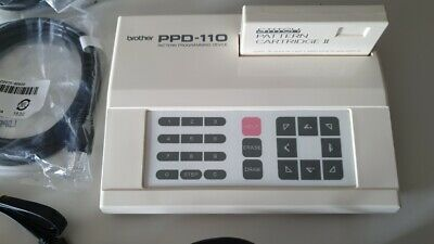 Brother knitting machine computer PPD-110 Pattern Programming Device