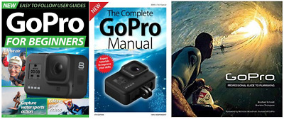 GoPRO Hero 8/7/6/5 book library collection/bundle [3 books]