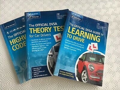The Official DVSA Highway Code, Practical & Theory Test Books Set 3