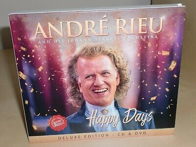 Andre Rieu & His Johann Strauss Orchestra: Happy Days *Deluxe Edition CD + DVD*