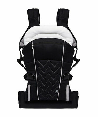 Mothercare 4 Position Baby Carrier - Black - From Birth - (1)