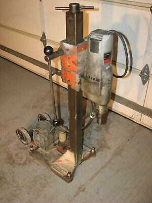 MILWAUKEE Core Drill 4094 Dymodrill 2 Speed Drilling Rig with Vacuum pump
