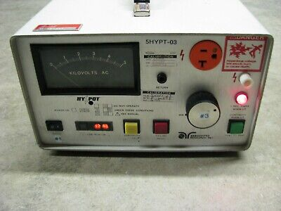 Associated Research 4050AT AC Hypot and Ground Continuity Tester