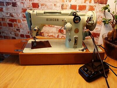 Vintage Singer 319K Embroidery/Zigzag Machine Serviced Pat tested Video