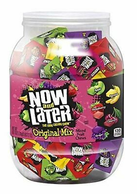 Now & Later The Long Lasting Original Mini Bars, Mixed Fruit Chews, 100 Pieces