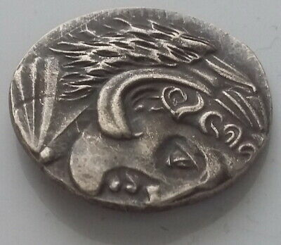 Greek Coin Alexander The Great Ancient Greece Silver Plated Athens Horse # 20