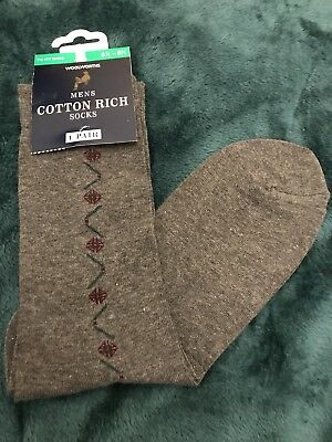 VINTAGE Woolworths Men's Socks Size 6-8.5 northern soul
