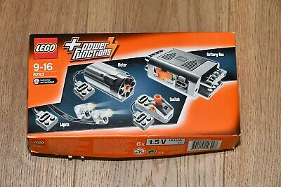 LEGO® 8293 Power Functions Tuning Set NEU OVP Motor Batteriebox Kippschalter LED