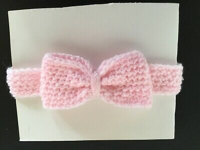 🌸Baby Girls Crochet Headband Newborn 🌸