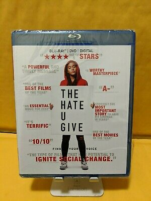The Hate U Give [BLURAY+DVD DISCS ONLY!!!] [NO DIGITAL]